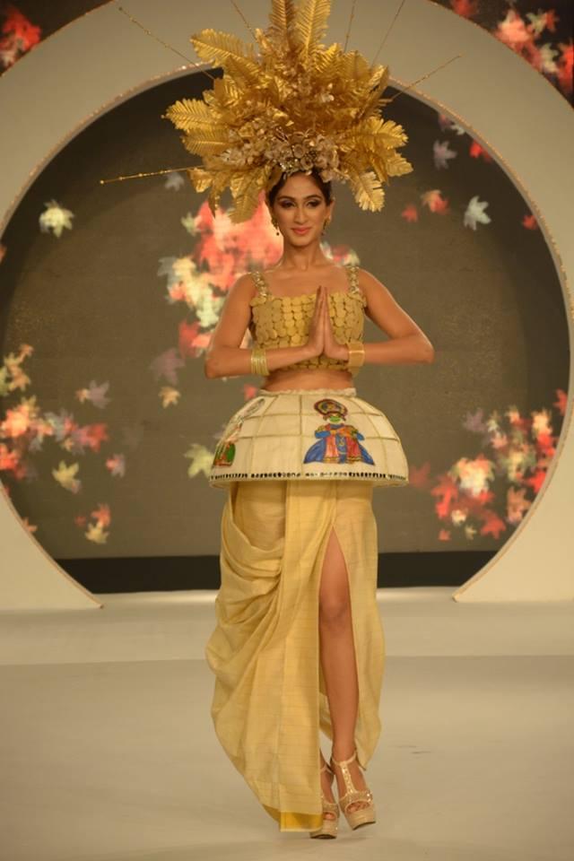 Top 7 National Costumes Sub Contest Of Femina Miss India